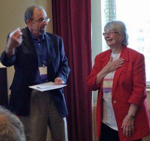Jim Eller and Nana Kratochvil