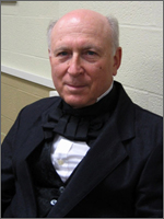 Dick Fewks as Theodore Parker