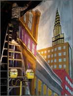 Set for Guys and Dolls, designed by Andy Backus