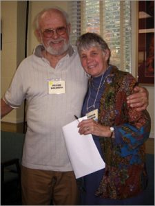 Peter and Carolyn Baldwin Giving Their Odyssey, 2009